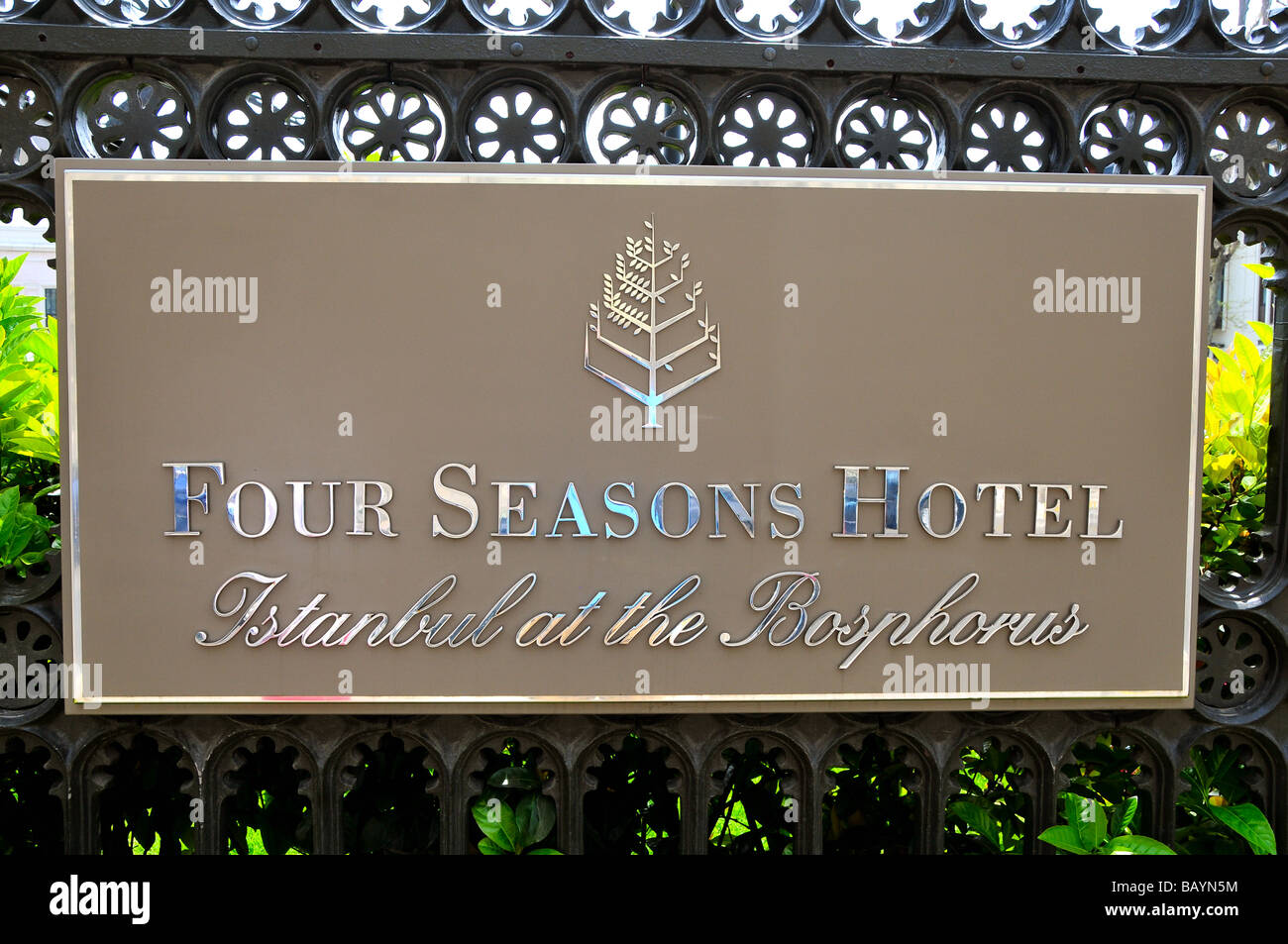 Four Seasons Hotel, Istanbul, Turkey Stock Photo