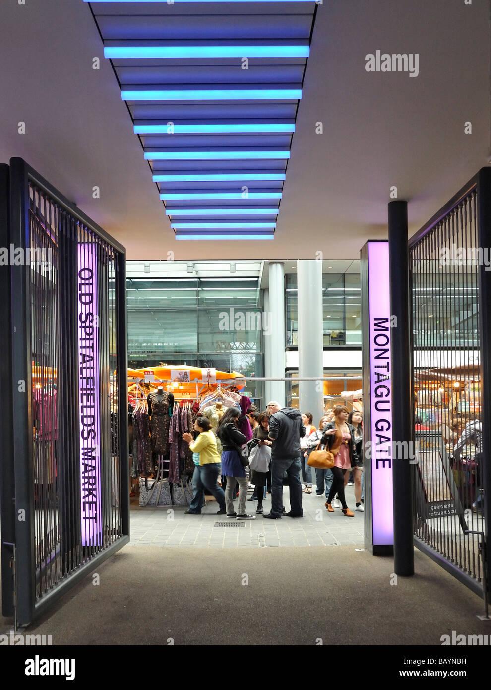 Spitalfields Market , London Stock Photo