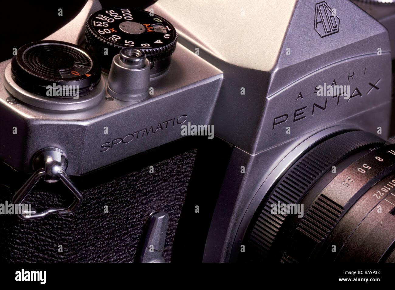 Asahi Pentax Spotmatic II, Classic 70's camera - Stock Image