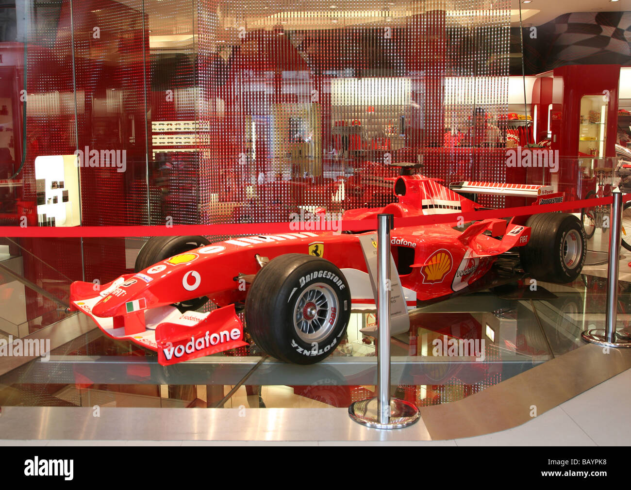 Ferrari Store In Regent Street Stock Photos & Ferrari Store In ...