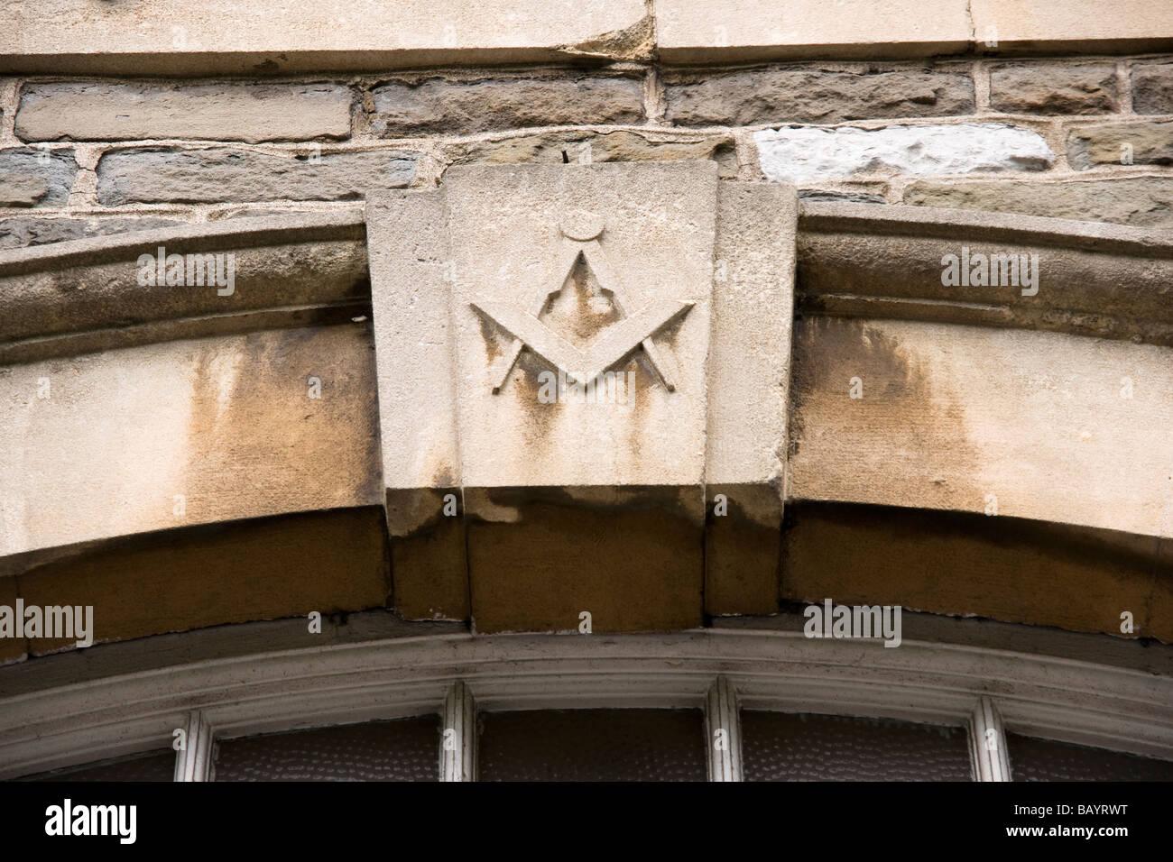 Masonic Symbol - Stock Image