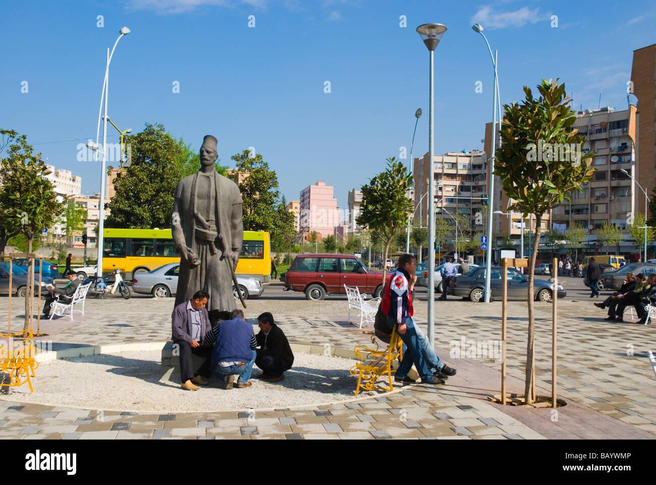 Central Tirana Albania Europe - Stock Image