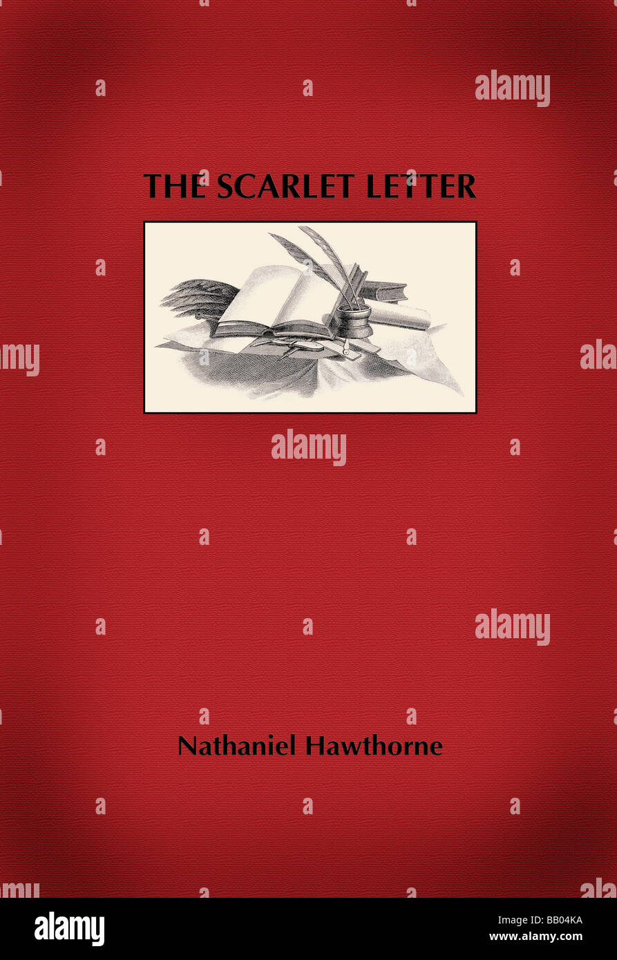 Cover The Scarlet Letter Stock Photos