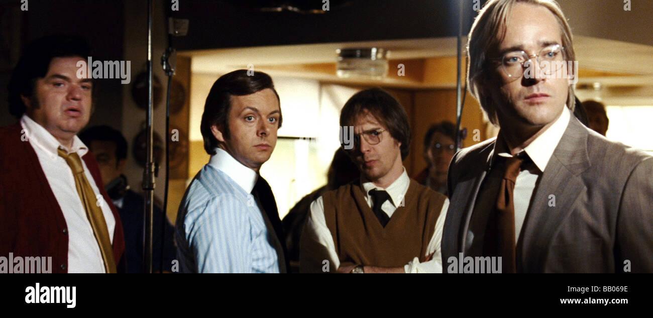 Frost / Nixon  Year : 2008 Director : Ron Howard Oliver Platt, Michael Sheen, Sam Rockwell, Matthew Macfadyen - Stock Image