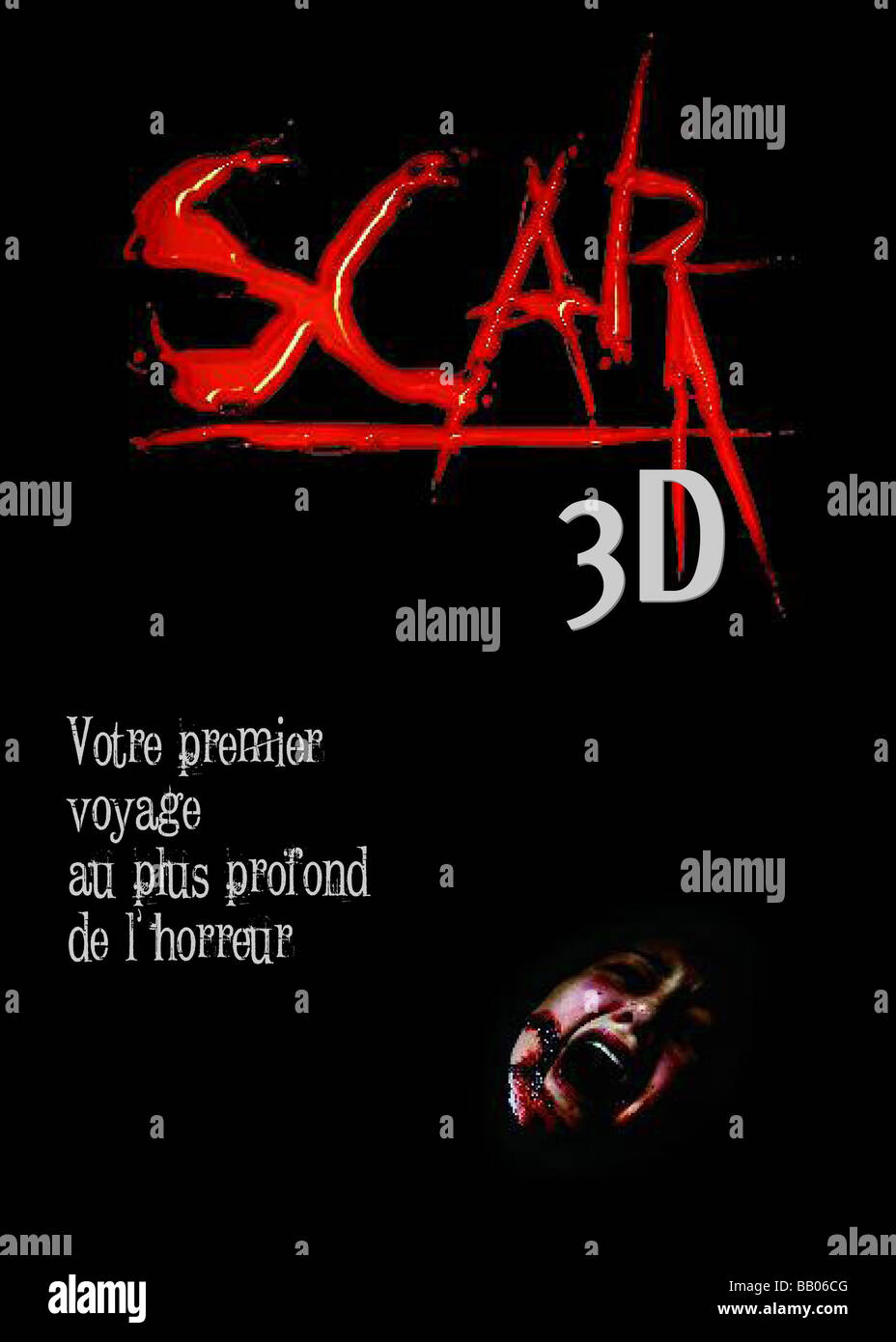 Scar Year : 2007 Director : Jed Weintrob  Teaser Stock Photo