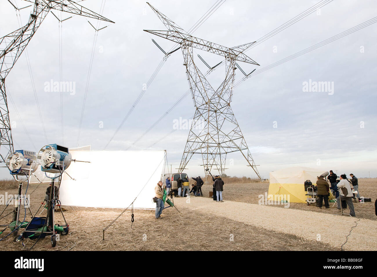 Eagle Eye Year : 2008 Director : D J Caruso Shooting picture - Stock Image