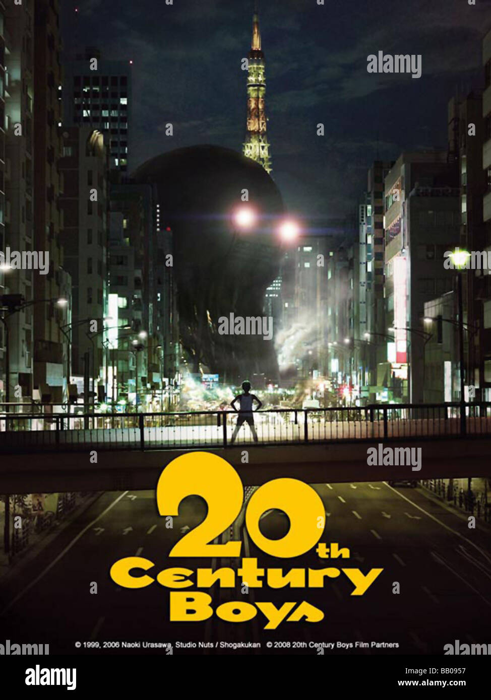 20-seiki shônen Twentieth Century Boys Year : 2008 Director : Yukihiko Tsutsumi Movie poster - Stock Image