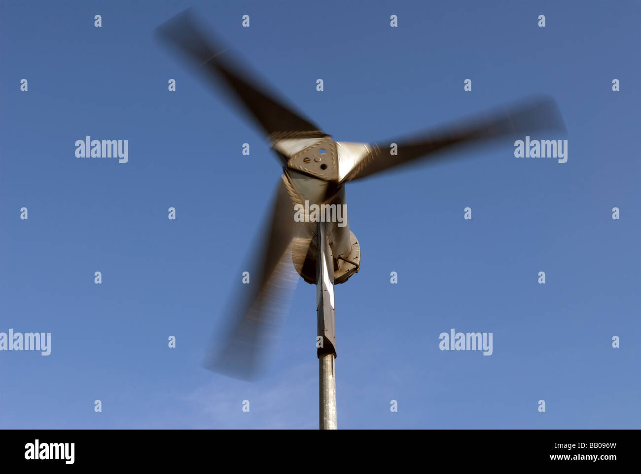 6KW wind turbine manufactured by Proven Energy, suppling electricity