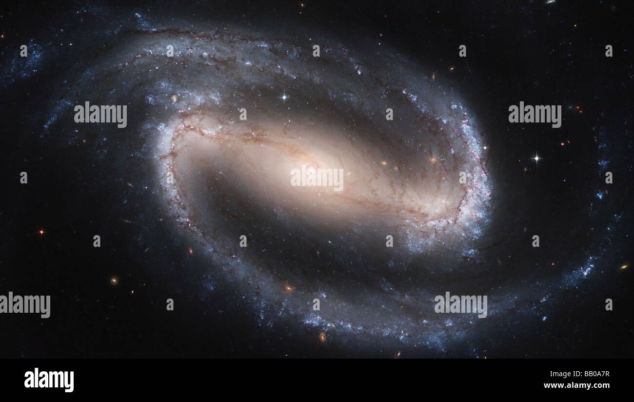 'spiral galaxy' picture credit NASA - Stock Image
