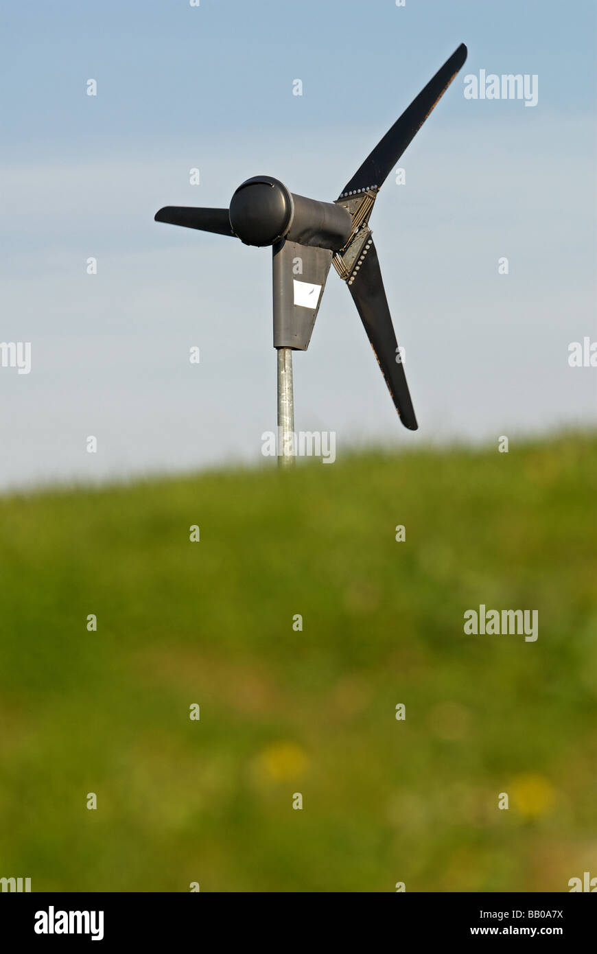 6KW wind turbine manufactured by Proven Energy, suppling