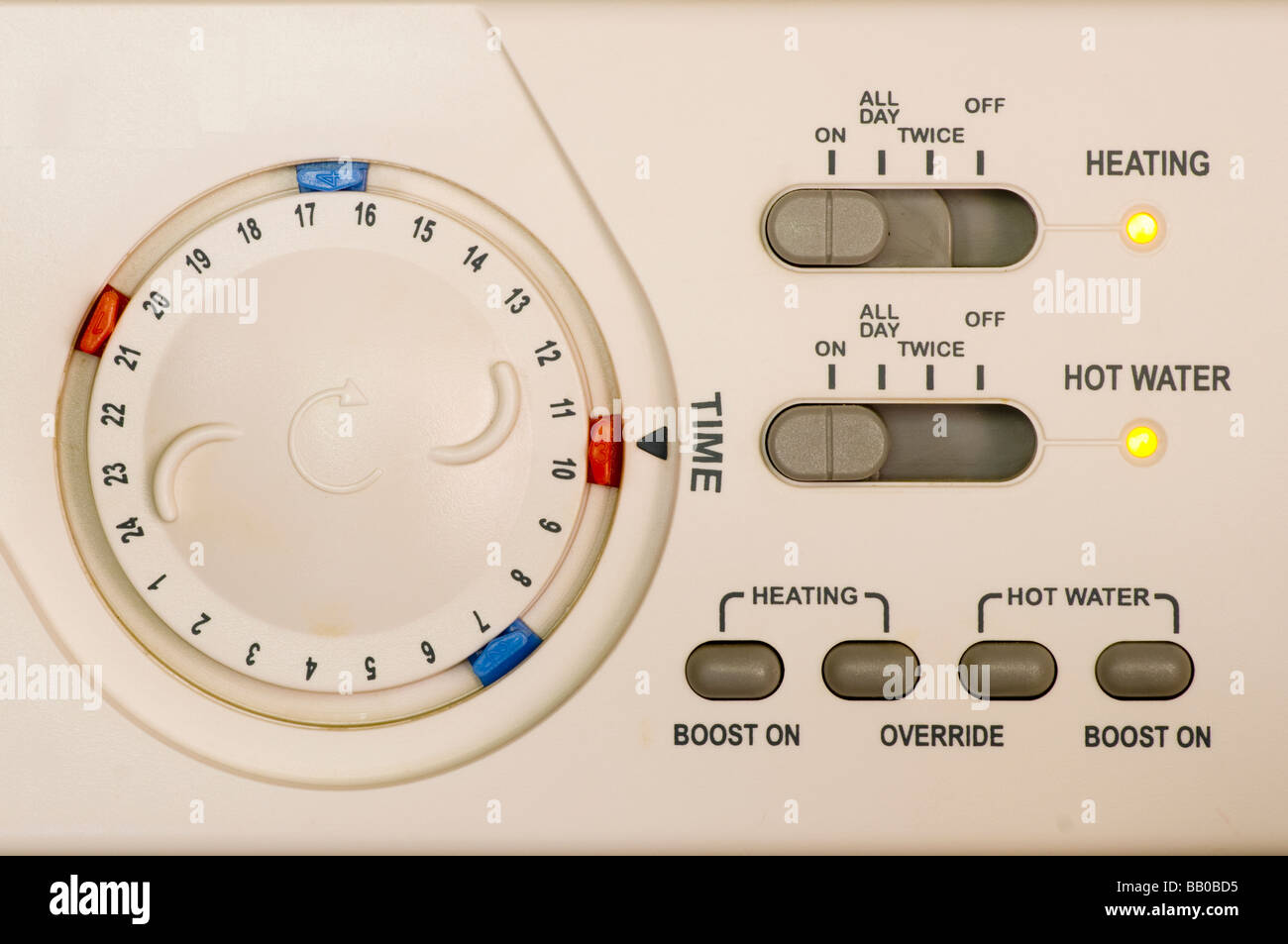 Central Heating Control Stock Photos & Central Heating Control Stock ...