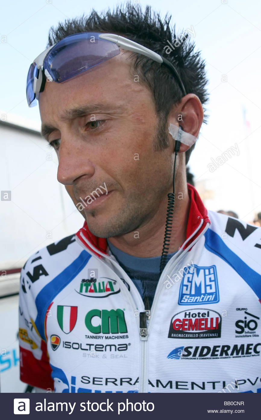davide rebellin,laigueglia 2009,cycling 46th trofeo laigueglia - Stock Image