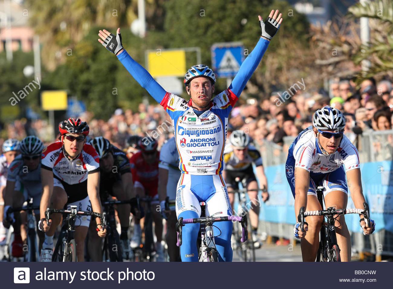 francesco ginanni,laigueglia 2009,cycling 46th trofeo laigueglia - Stock Image