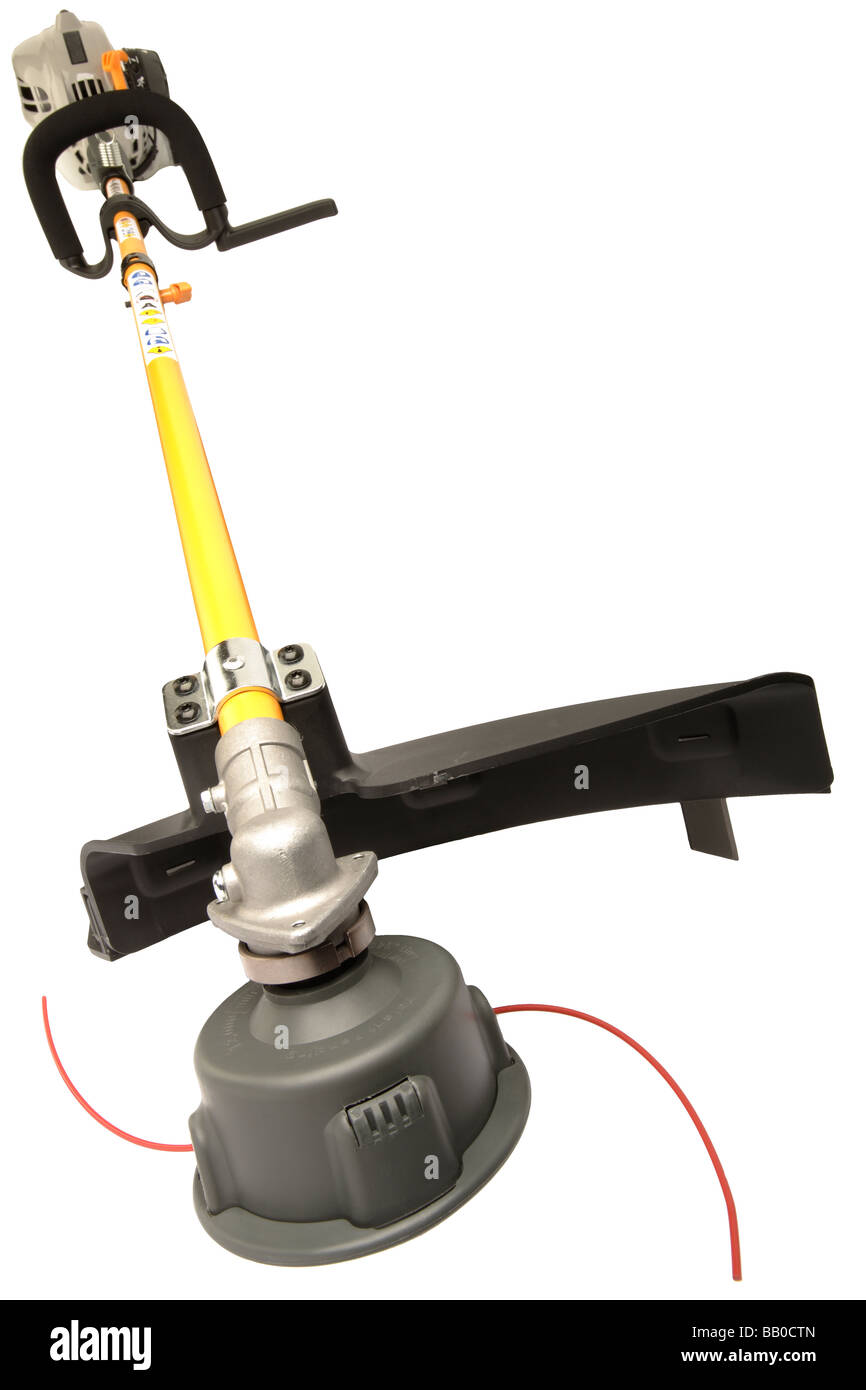 Garden tool Strimmer or trimmer - Stock Image