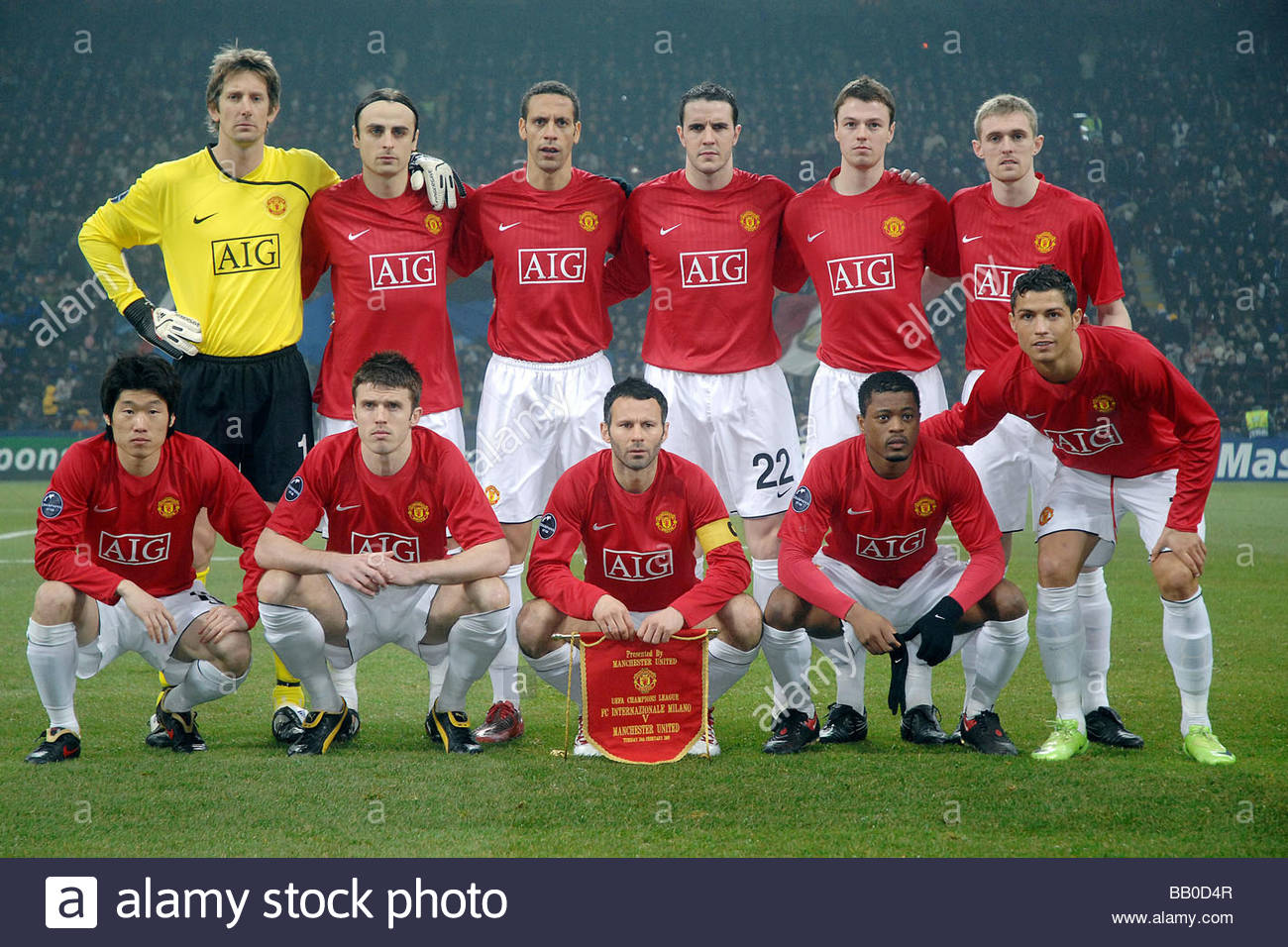 The Best Formazione Manchester United 2008