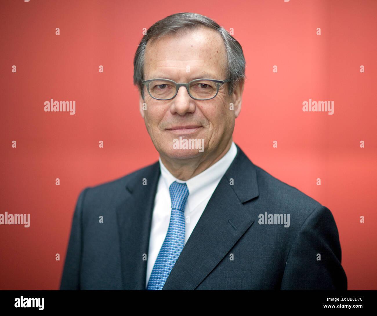 Klaus EBERHARDT CEO of Rheinmetall AG Stock Photo