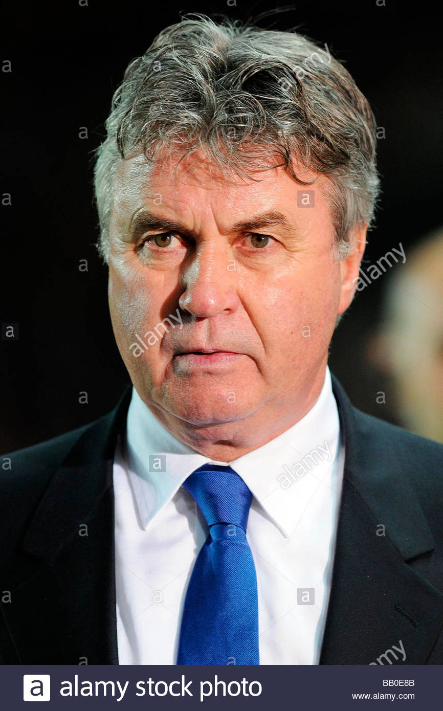 guus hiddink,torino 2009,champions league Stock Photo