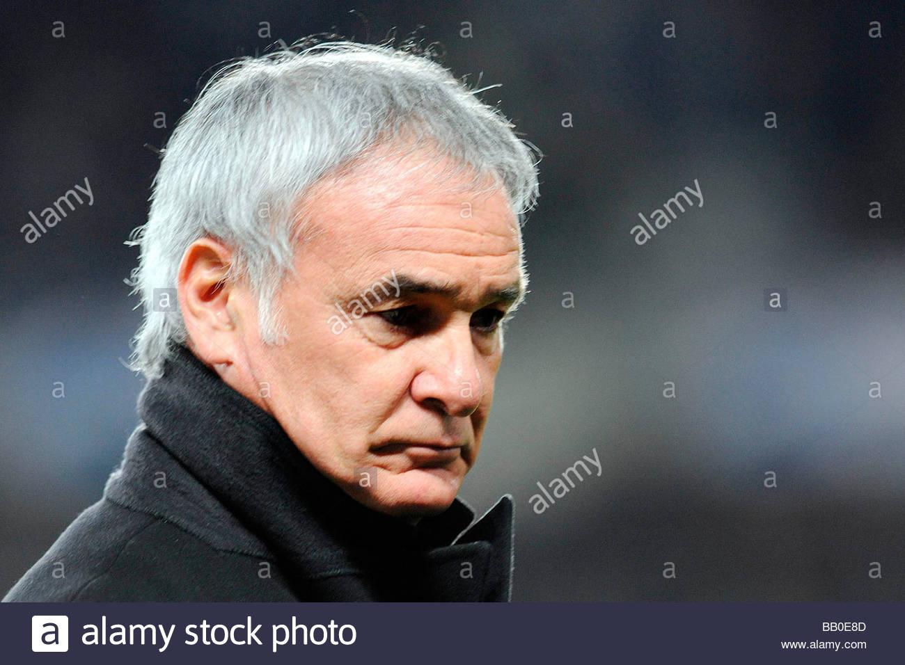 claudio ranieri,torino 2009,champions league Stock Photo