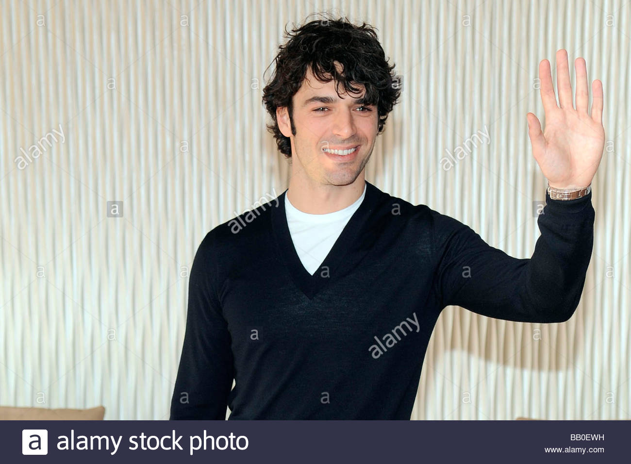 Luca Argentero Milano 2009 Diverso Da Chi Film Presentation Stock Photo Alamy