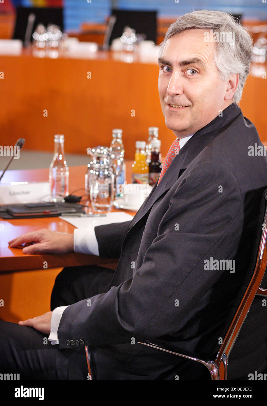 Peter LOESCHER CEO of Siemens A - Stock Image