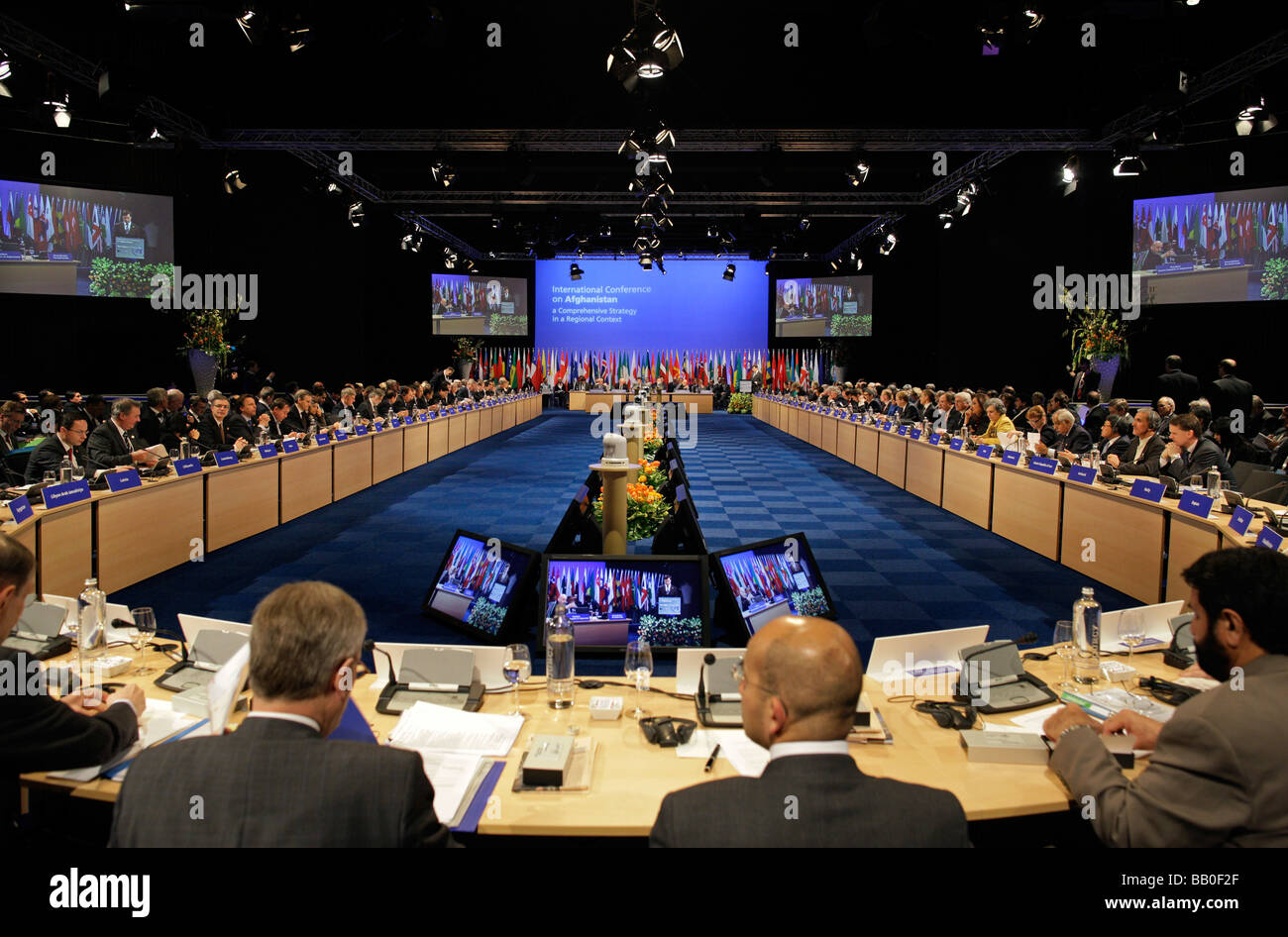 International Conference on Afghanistan The Hague Netherlands - Stock Image