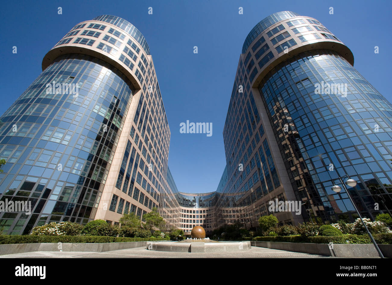 The Federal Ministry of the Interior Stock Photo