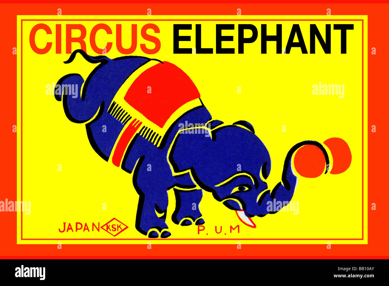 Remarquable  Mot-Clé Vintage Circus Graphics High Resolution Stock Photography and ...