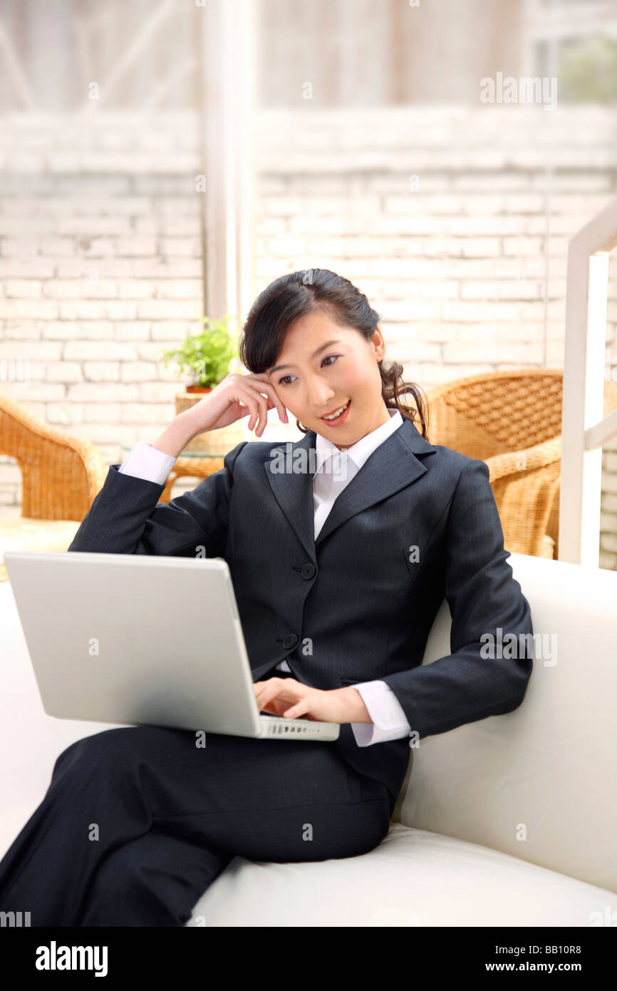 chinese business woman in the office china stock photo 23994188 alamy