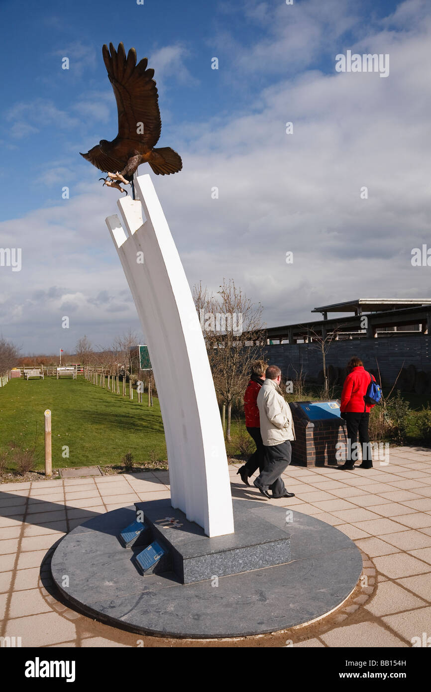Berlin Airlift Memorial, National Memorial Arboretum, Alrewas, Staffordshire - Stock Image