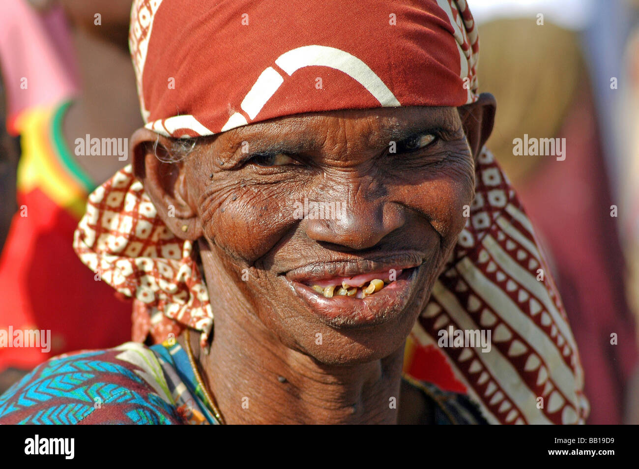 Old african woman picture