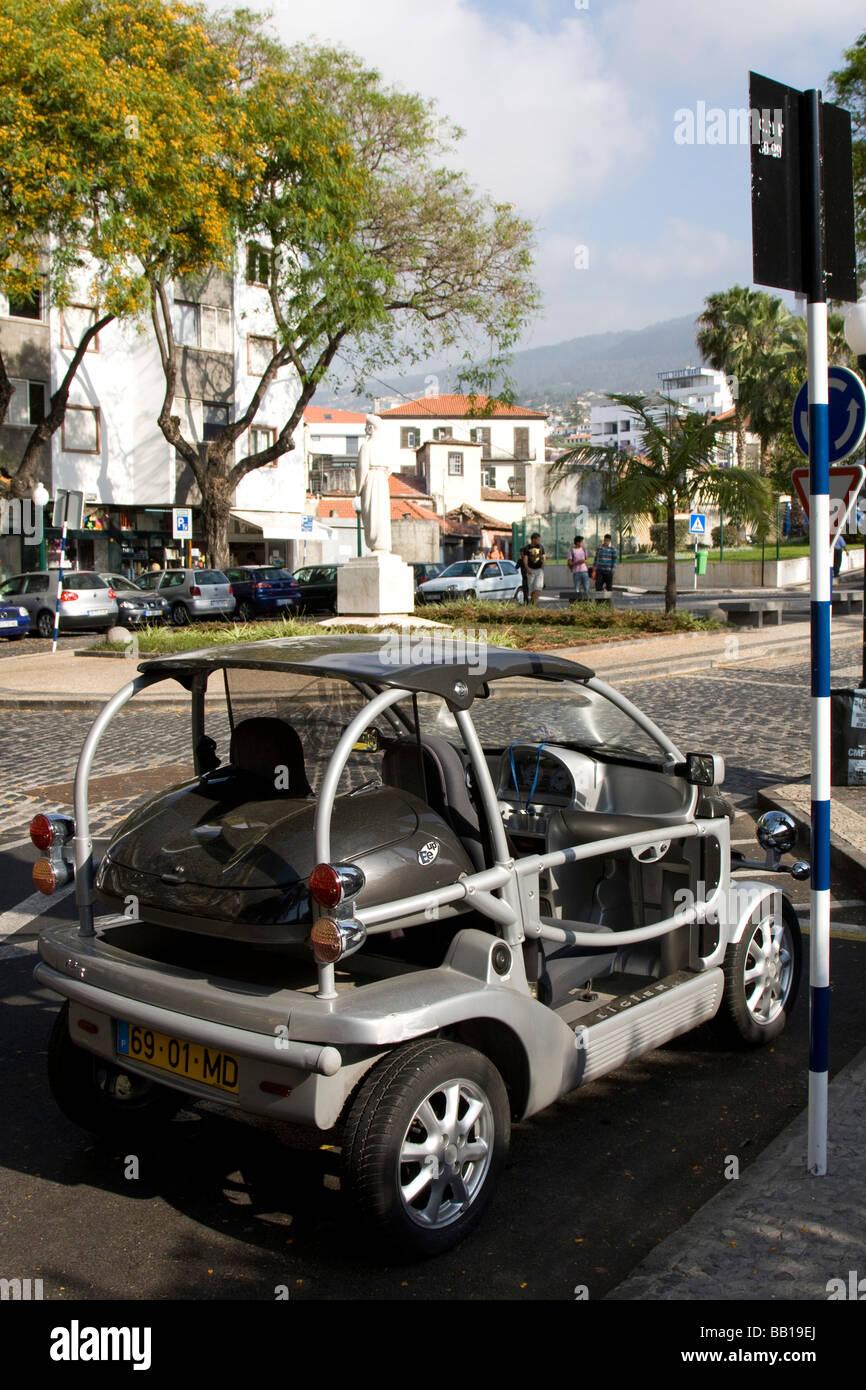 smart car tubular steel frame funchal madeira seaside city ...