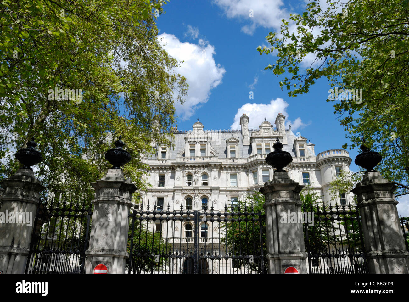 Middle Temple Inns of the Court Victoria Embankment London - Stock Image