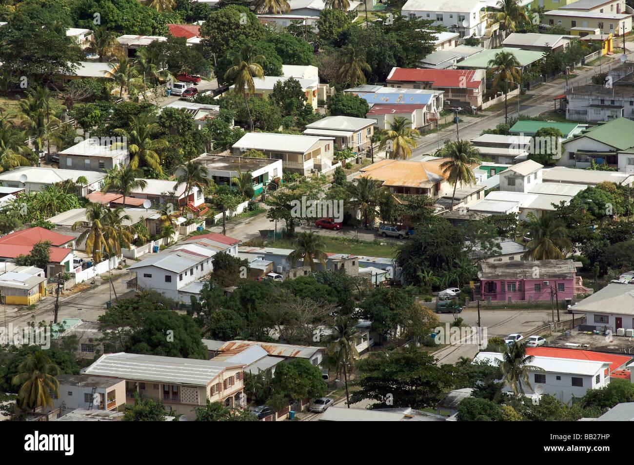 Sint Maarten Sint Peters cul de sac - Stock Image
