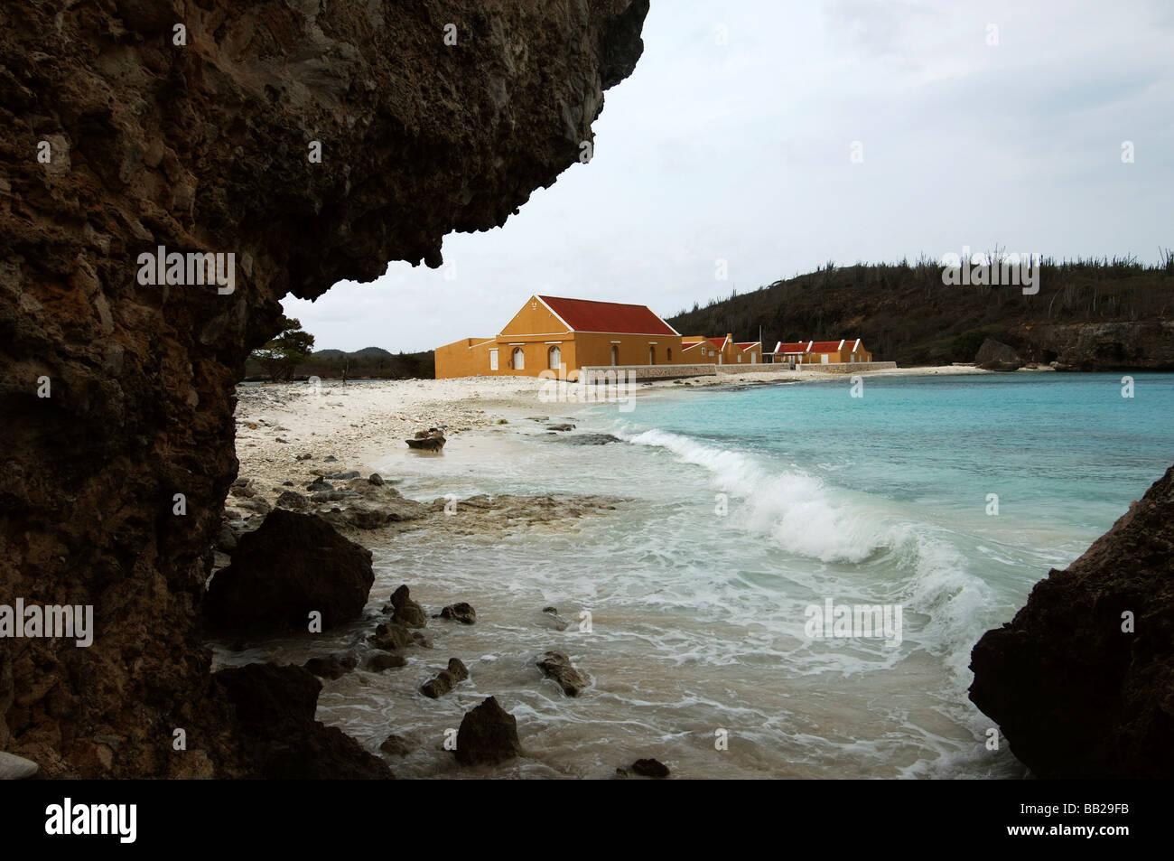Netherlands Antilles Bonaire Boka Slagbaai of the Washington Slagbaai National Park - Stock Image