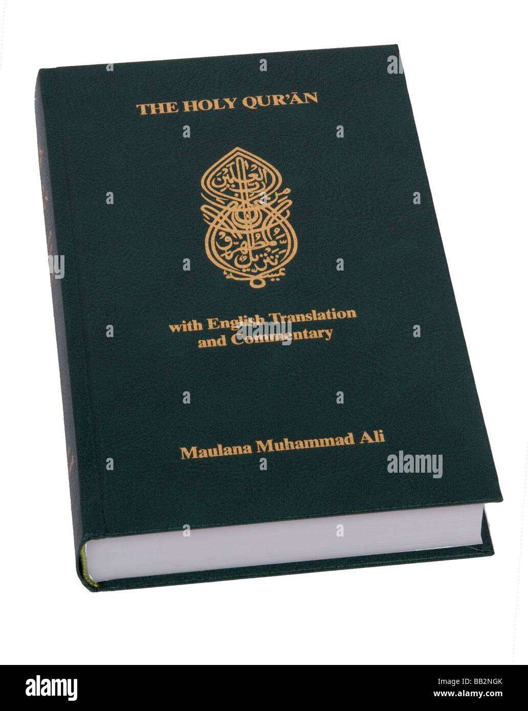 a cut out of the koran - Stock Image