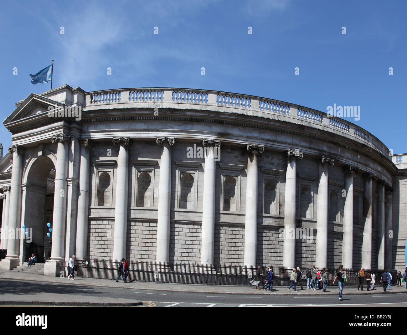 Bank of Ireland Dublin - Stock Image