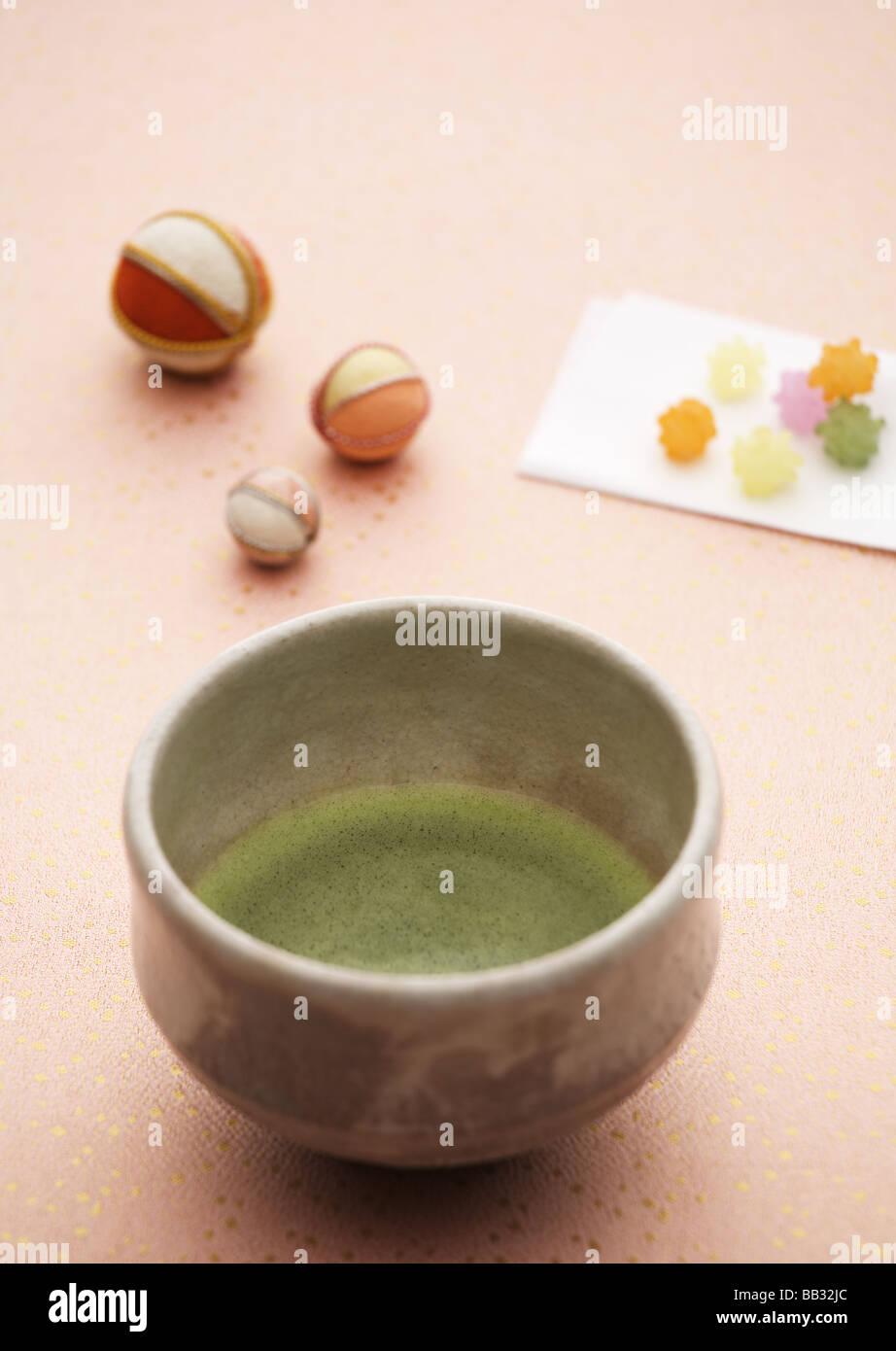 Ceremonial tea - Stock Image