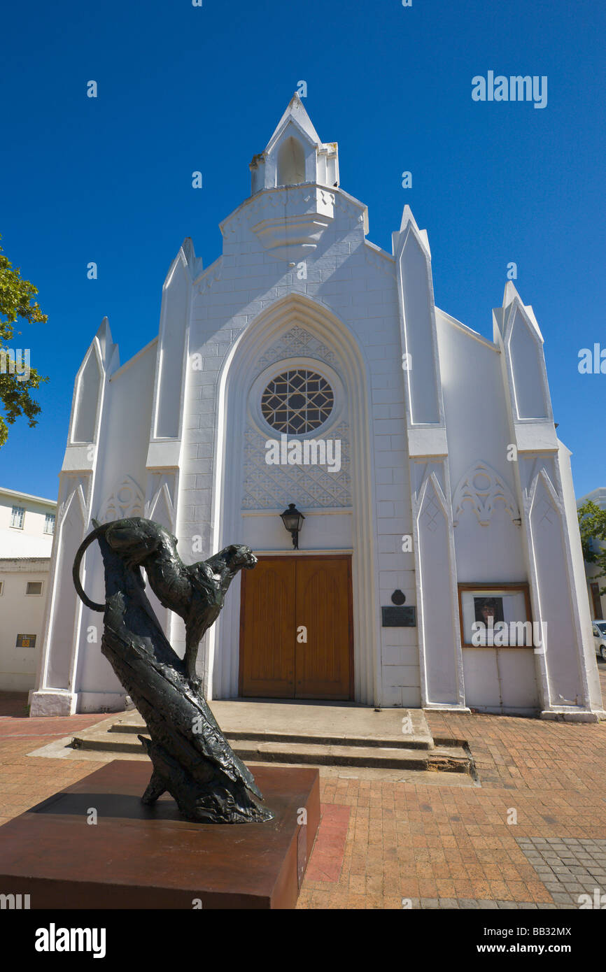 Art Gallery and sculpture, Stellenbosch, 'South Africa' - Stock Image