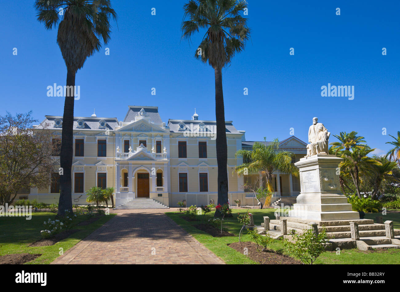 Theology College, Stellenbosch, 'South Africa' - Stock Image