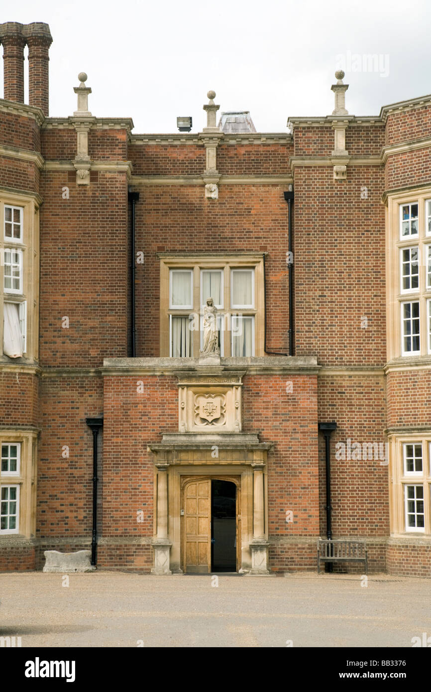 The main  entrance to New Hall private girls school, Chelmsford, Essex, England - Stock Image