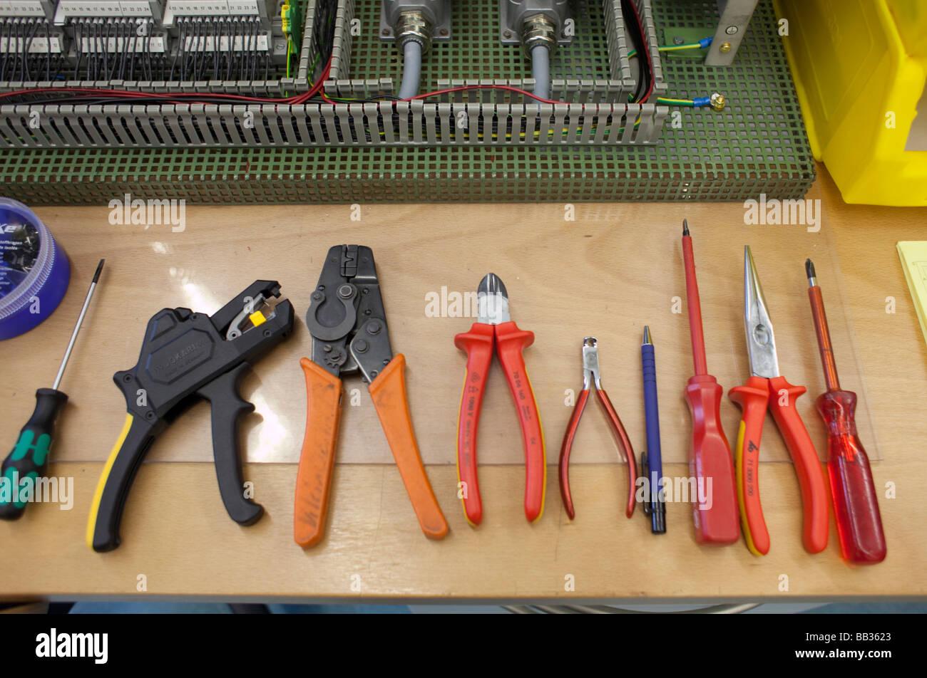 Tools Duesseldorf - Stock Image