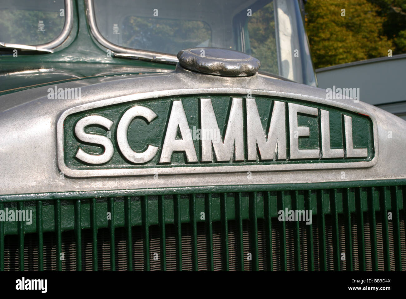 Scammell Highwayman Truck Stock Photo