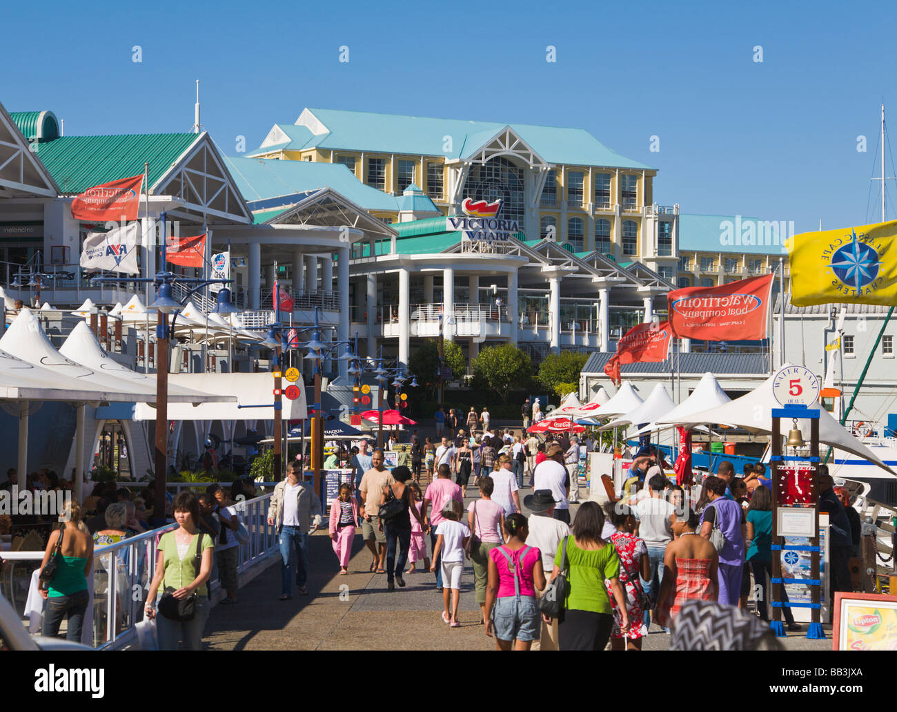 'V&A waterfront', 'Cape Town', 'South Africa' - Stock Image