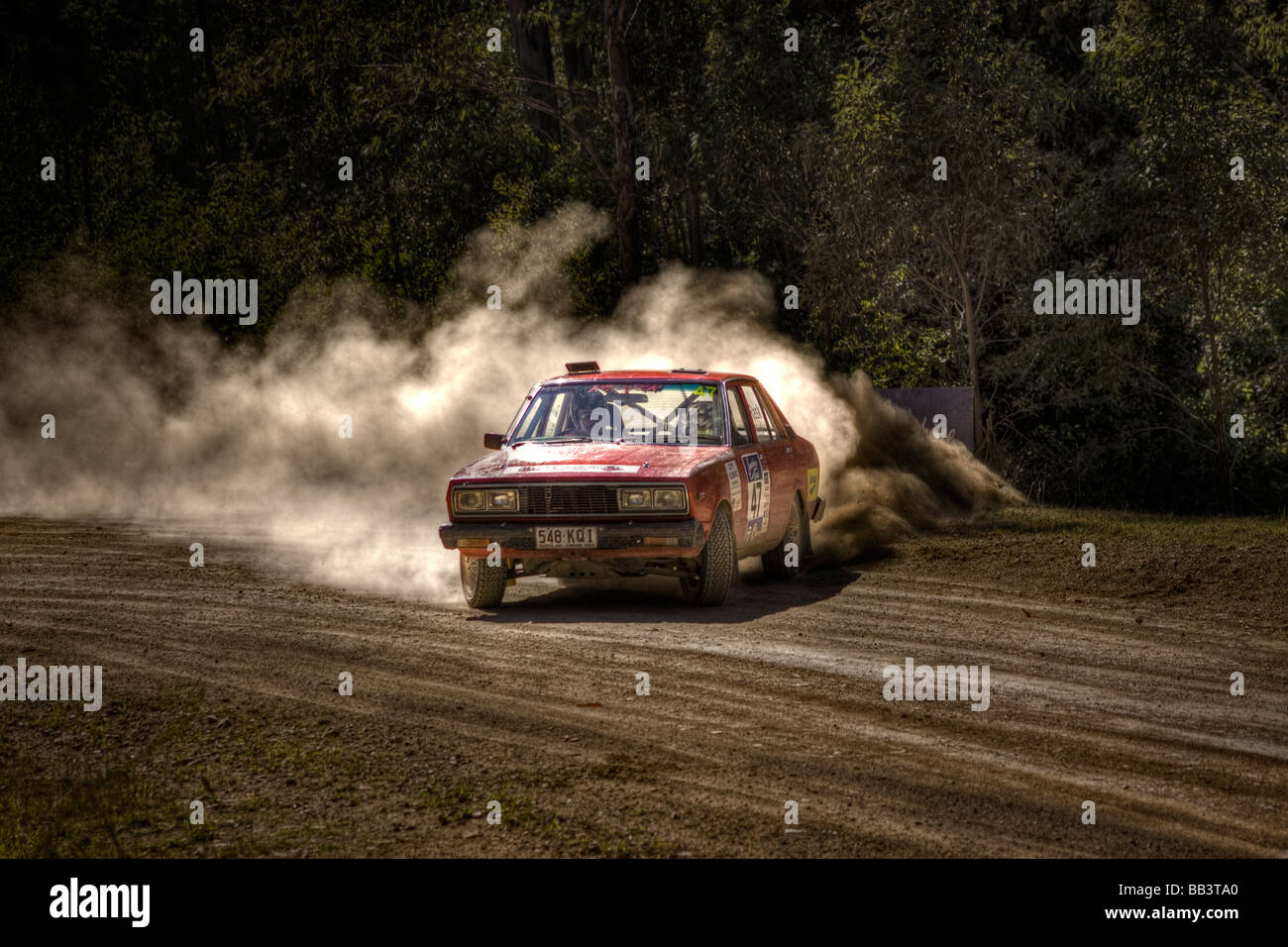 rally driving Stock Photo: 24056536 - Alamy