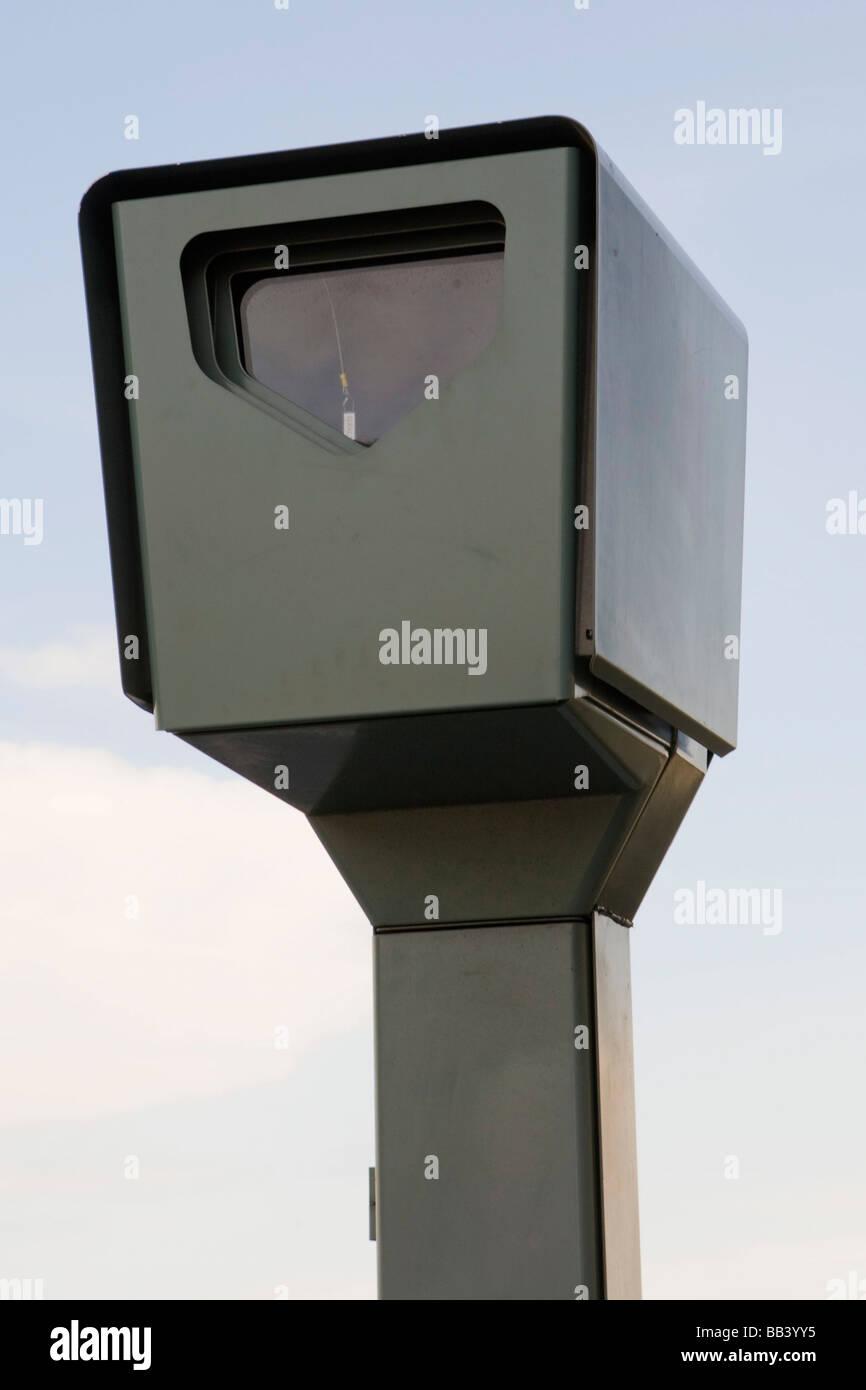 Digital Traffic Light Camera Pitt Street Auckland New Zealand - Stock Image
