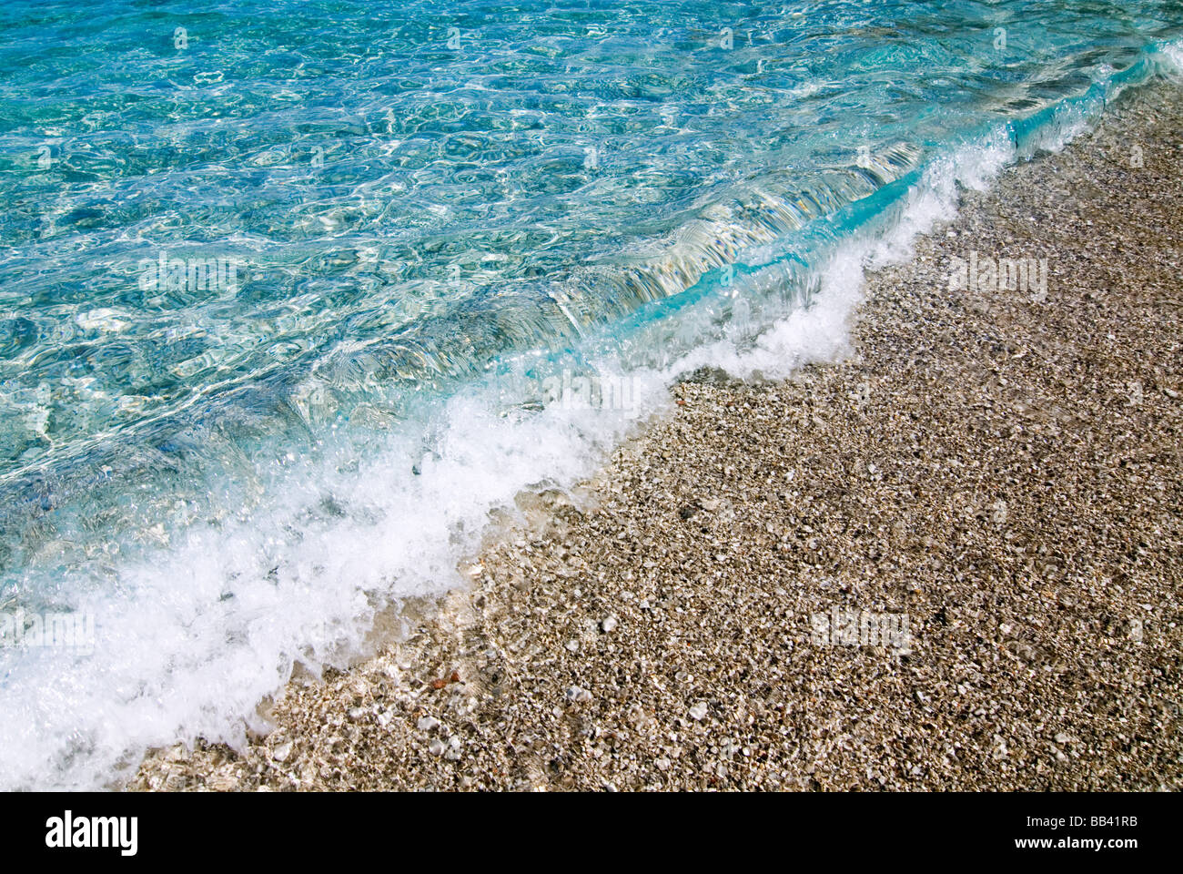 Greek Island Karpathos: Apella beach Stock Photo