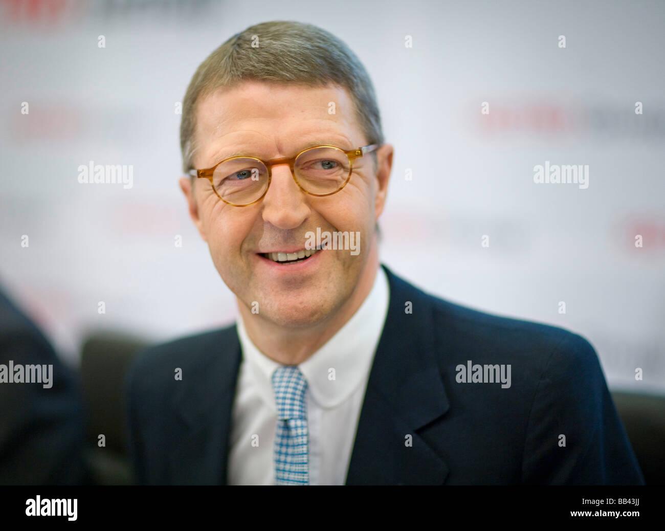 Eckhard CORDES CEO of Metro AG Stock Photo