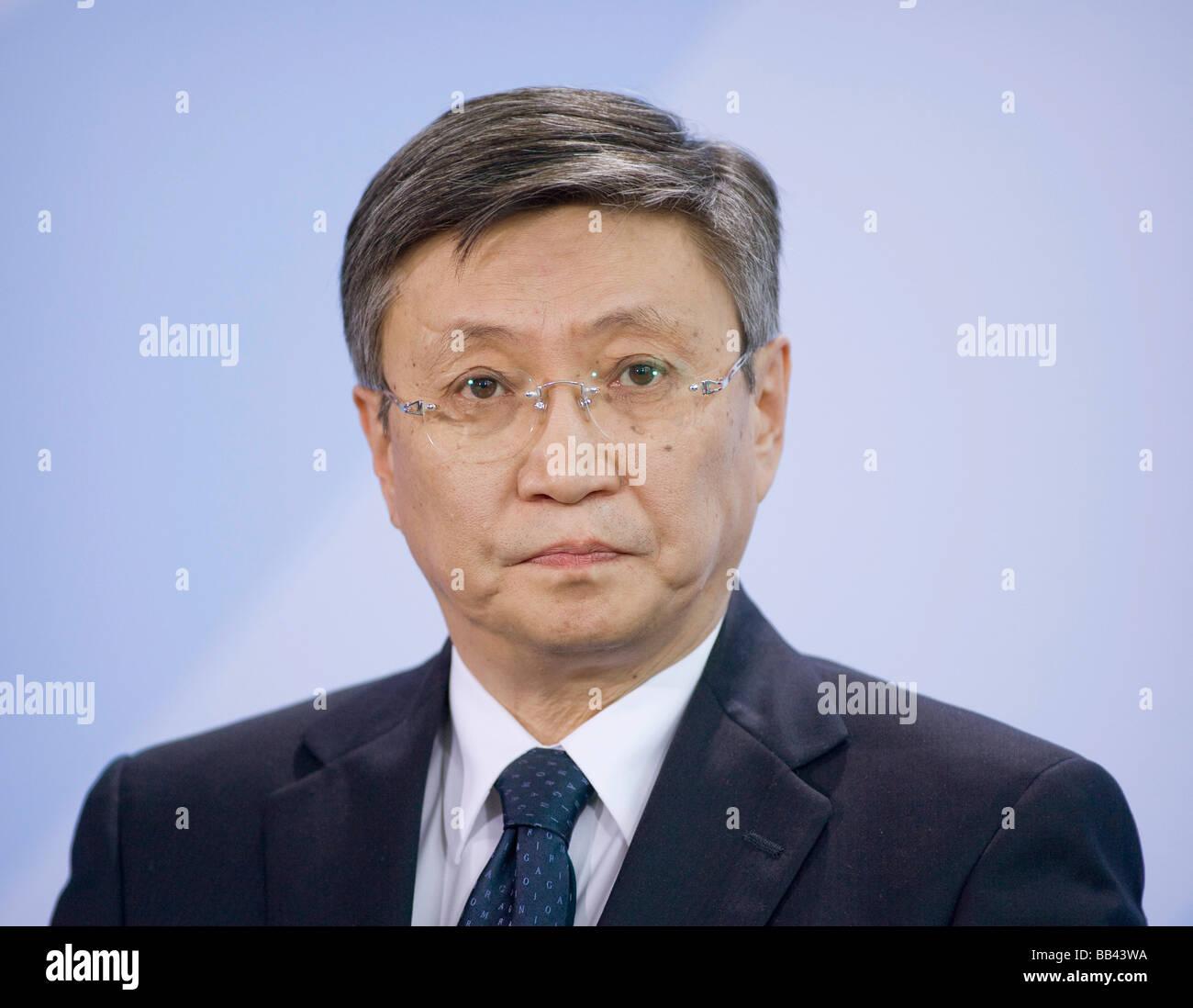 Sanjaa BAYAR Prime Minister of mongolia - Stock Image