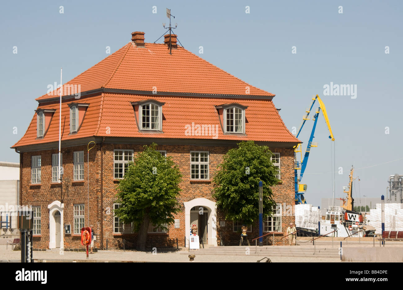 Baumhaus, Wismar, Germany - Stock Image