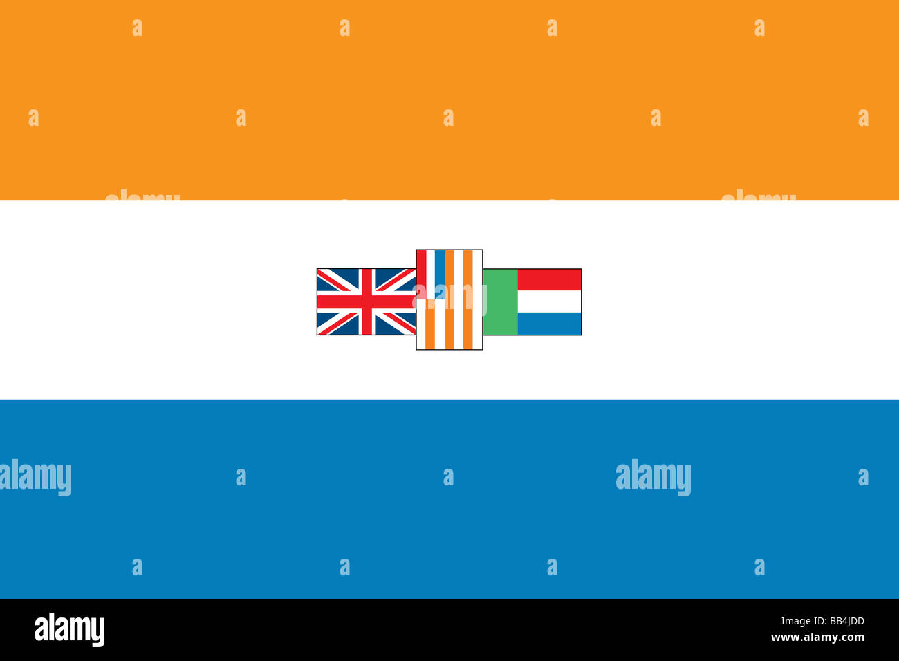 Historical flag of South Afric...
